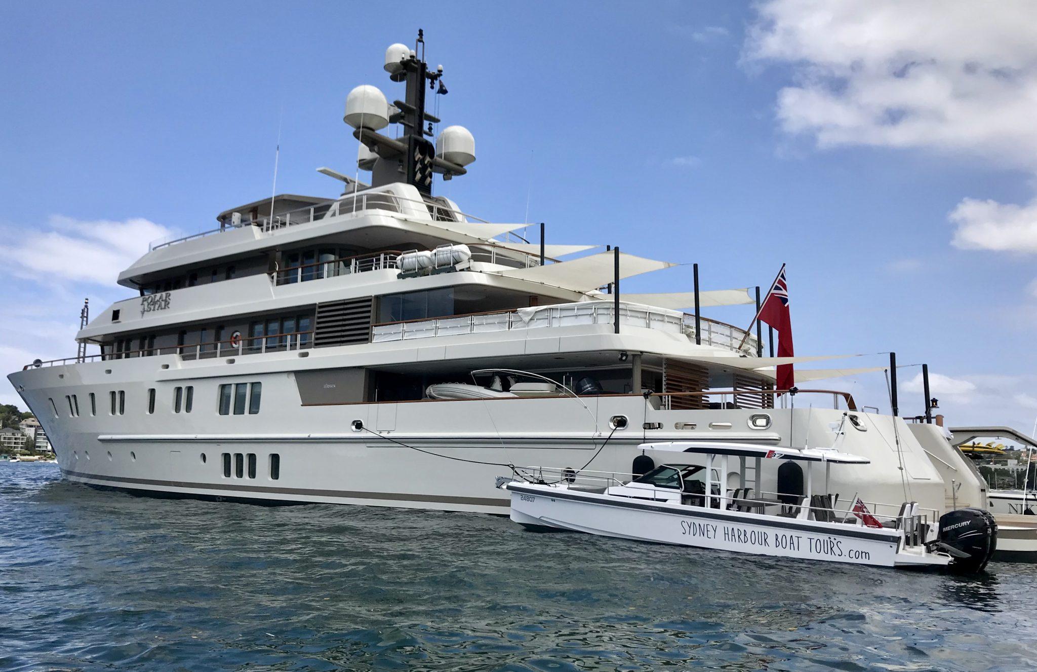 Sydney Harbour Boat Tours | Tender super yacht