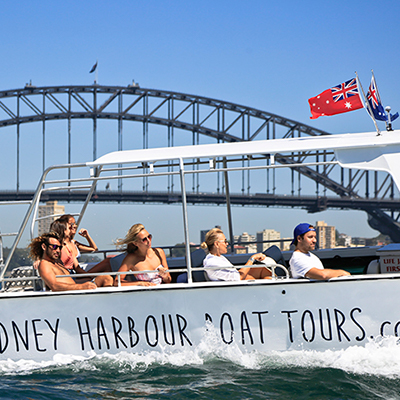 Harbour Cruise & Shark Island Visit