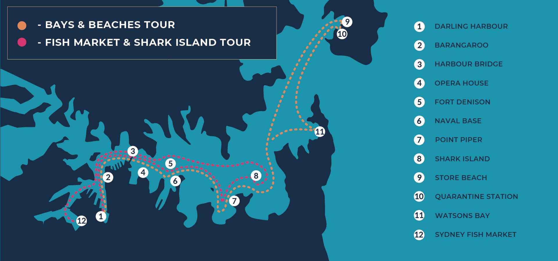 Sydney Harbour Boat Tours | Tours Map