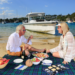 SECLUDED SYDNEY WATERWAYS CRUISE & BEACH PICNIC