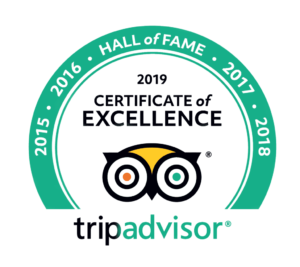 TripAdvisor Certificate of Excellence for Sydney Harbour Boat Tours.